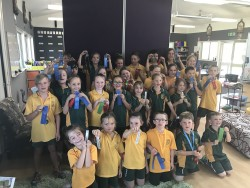 2017 Swimming Carnival Ribbon Winners